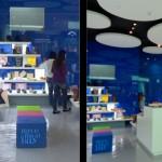 Interior de la tienda que Gioseepo ha abierto en Abu Dhabi