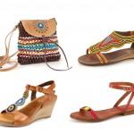 Modelos de la colección Maasai de Pikolinos