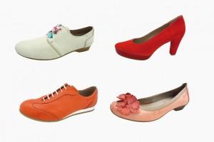 Dorking: calzado lleno de color