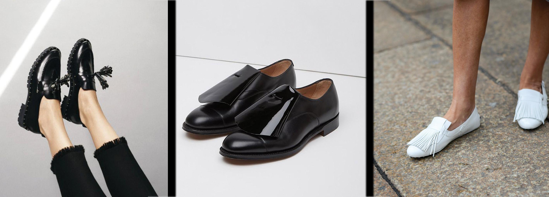 El zapato plano para mujer  otoño-invierno 2015 2016 680c7557044d