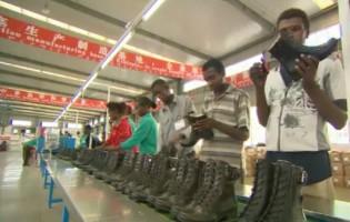 La construcción de la «ciudad del calzado» en Etiopía sigue avanzado