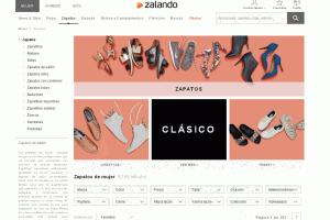 El calzado español suspende en internet