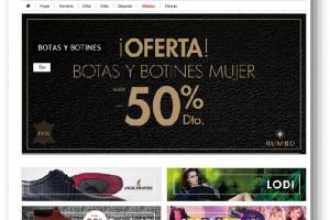 Calzados Rumbo estrena su nueva tienda online