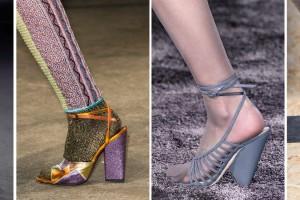 Tendencias para el calzado de mujer de otoño-invierno 2016/ 2017