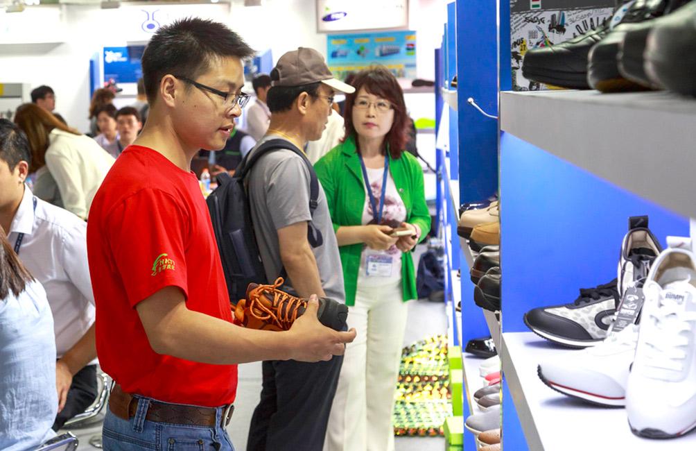 exportaciones chinas de zapatos