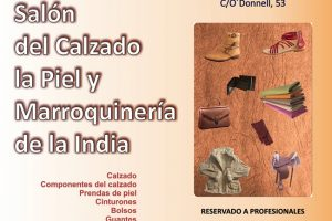 Medio centenar de fabricantes de artículos de cuero de la India llegan a España en busca de clientes