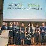 segunda edición de los premios Internacionalización acocex