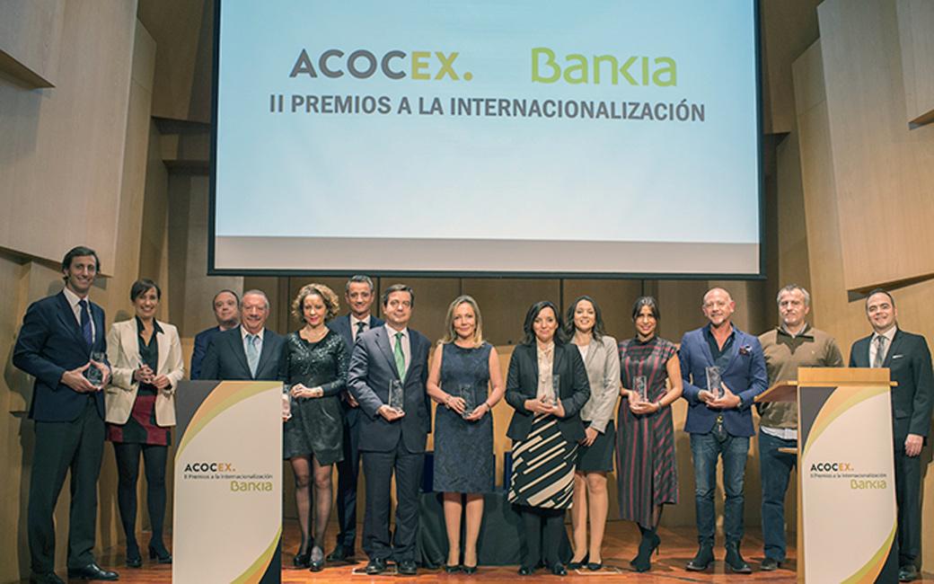 segunda edición de los premios Internacionalización