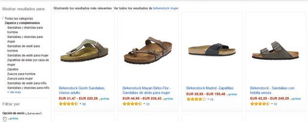 Birkenstock rompe con Amazon