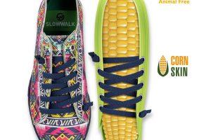 Slowwalk crea el calzado hecho de maíz