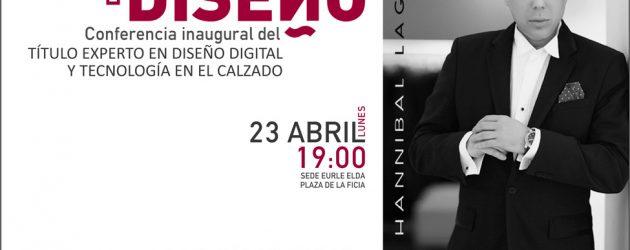 Hanníbal Laguna inaugura el título universitario de experto en calzado