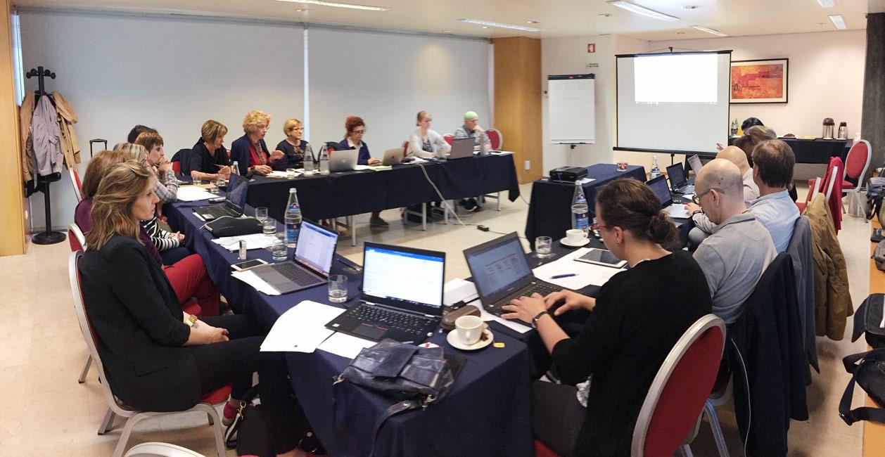 Reunión de los socios del proyecto Fit2Com en Oporto.