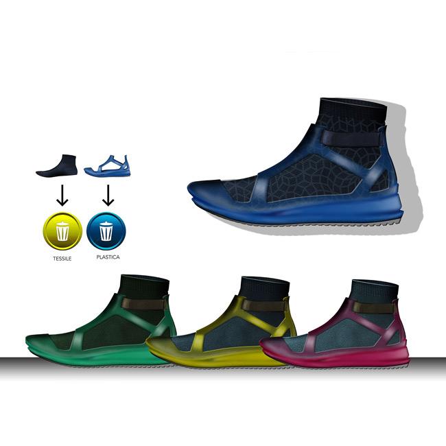 Desarrollo de un calzado reciclable