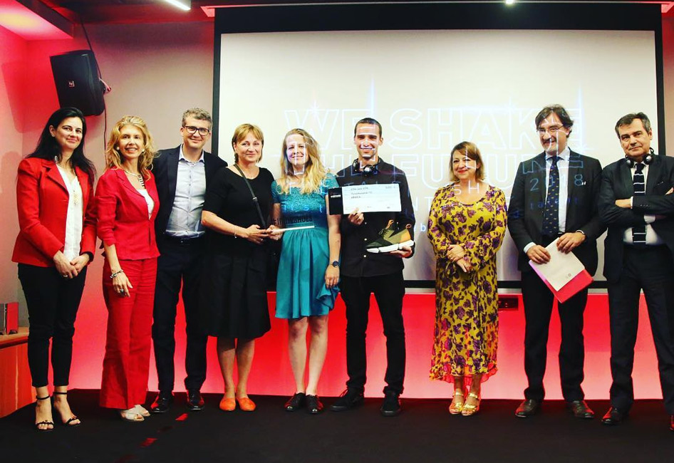 Entrega de premios a los ganadores «Sacude el futuro del sector del calzado».