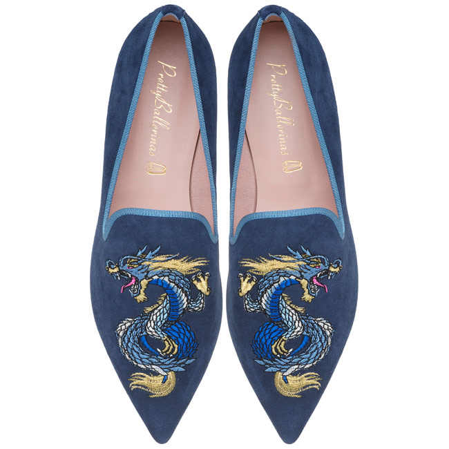 Ella dragon loafer