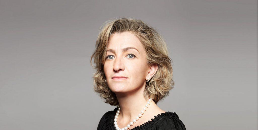 Micaela Le Divelec Lemmi, directora ejectiva de Salvatore Ferragamo.