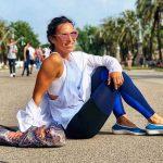 La blogera fitness Paula Butragueño, de Inspira Fit, con unas Lolitas.