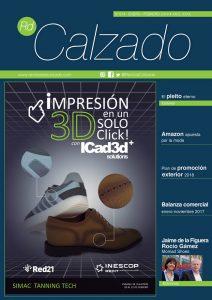 Portada Revista del Calzado, número 217