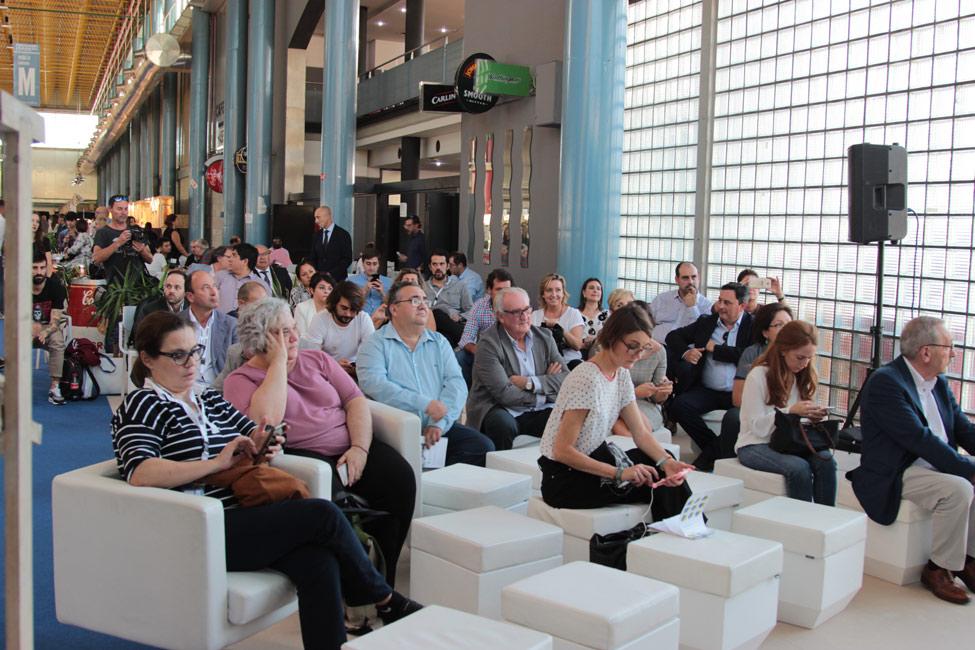 Público en la presentación de ShoesRoom by Momad.