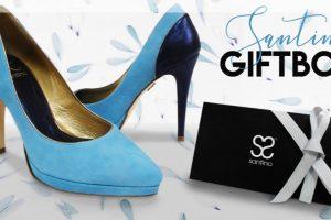 Santino Giftbox, una manera diferente de regalar zapatos