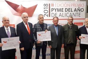 Cetti gana el premio Pyme 2018 de Alicante