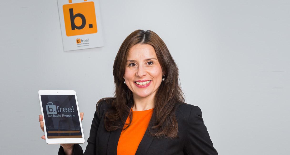 Alicia Maniega, fundadora y directora general de b.free!