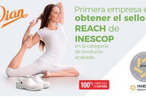 Dian, primera empresa española en conseguir el sello Reach