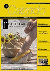 Portada de Revista del Calzado 2017