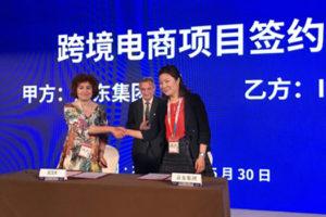 ICEX y JD.com firman un acuerdo para la venta online en China