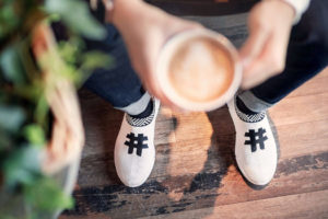 #Rens, innovadoras zapatillas de café
