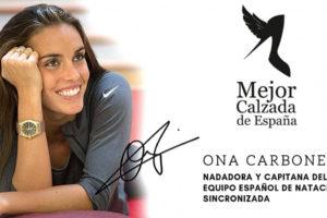 La nadadora Ona Carbonell, elegida mujer Mejor Calzada de España 2018