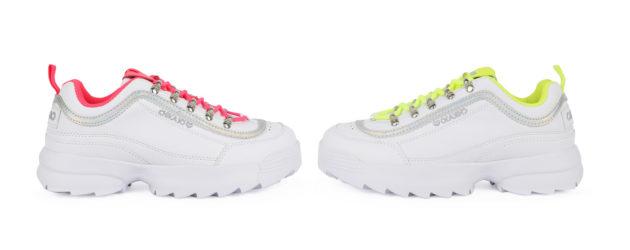 Chika10 se va de rave con su nueva línea de zapatillas