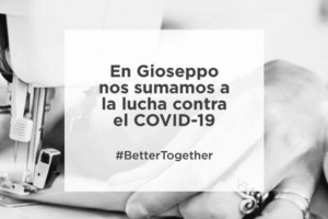 Gioseppo se une a la lucha contra el coronavirus