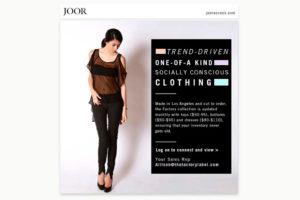 ICEX y la plataforma JOOR se unen para la promoción internacional de la moda española