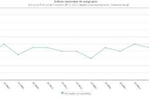 Los precios del calzado se mantienen al alza en junio