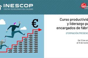 Inescop prepara un completo programa formativo para el mes de octubre