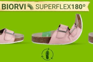 Sandalias cómodas, flexibles y sostenibles de Slowwalk