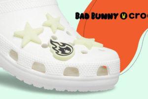 Crocs y Bad Bunny se unen para hacer brillar los zuecos