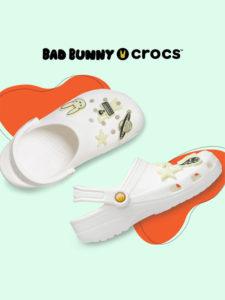 crocs bad bunny