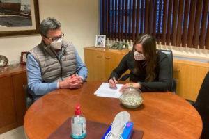 ONCE y Calzanunzio colaborarán en el acceso laboral de invidentes en el sector del calzado
