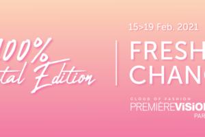 La edición 100% digital de Premiére Visión Paris reúne 1.560 stands online