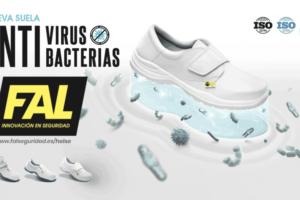 Fal Seguridad presenta su nueva suela contra virus y bacterias