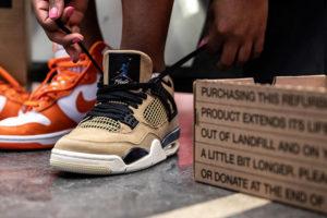 La segunda vida de las zapatillas Nike