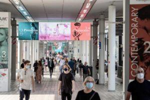 Las ferias italianas de moda se preparan para reiniciar su actividad en colaboración