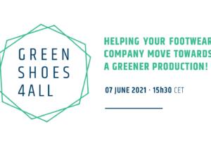 GreenShoes4All participará con una sesión en la GreenWeek 2021
