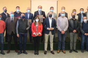 Declaración institucional en Albacete contra la subida de los aranceles al calzado