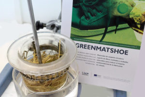 Materiales para calzado basados en fibras recicladas y acabados sostenibles