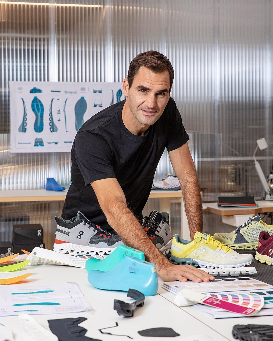 Roger Federer zapatillas On