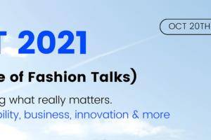 La sostenibilidad y tecnología centrarán el debate de la primera edición de Future of Fashion Talks