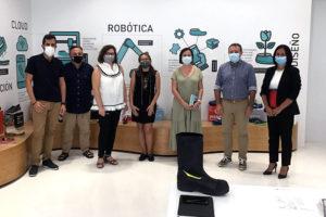 Inescop, Panter y la UMH colaboran en el desarrollo de unas botas inteligentes y sostenibles
